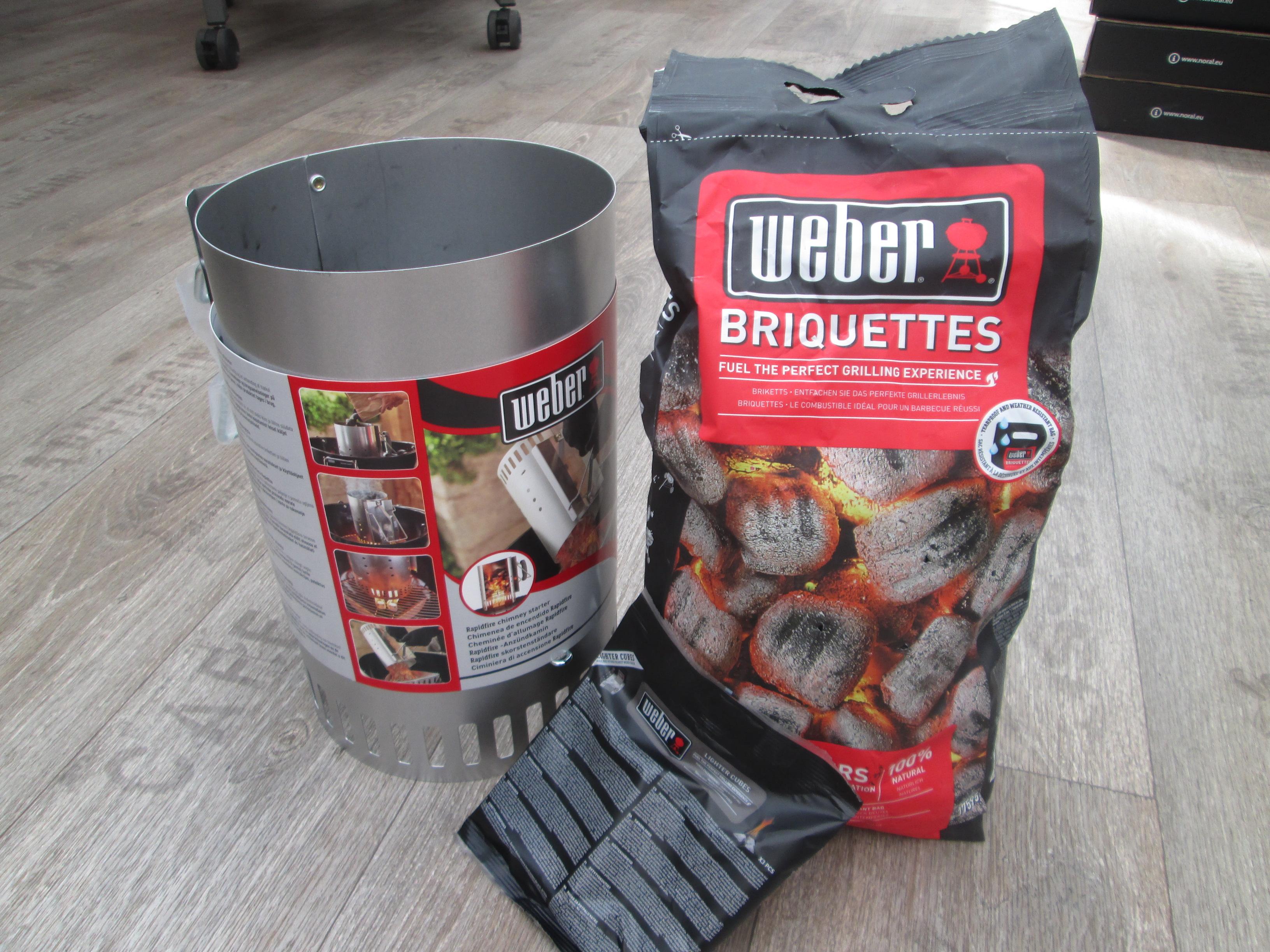 zapalovací komín Weber