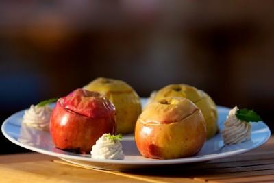 Grilovaná jablka