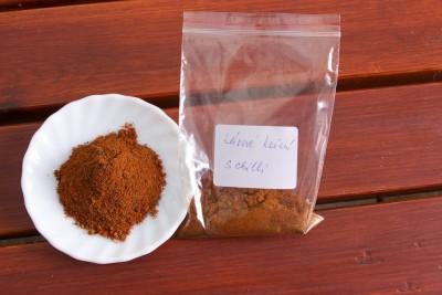 Koření kávové s chilli