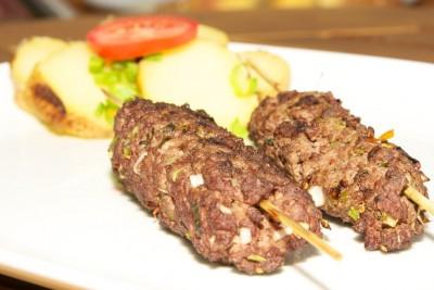 Kebab z mletého masa