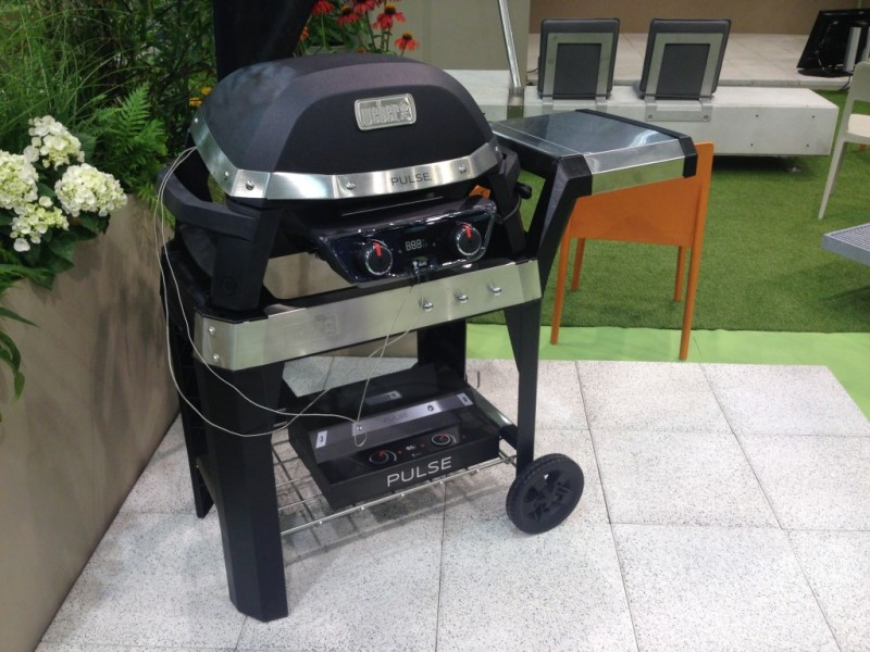 Weber Elektrogrill Pulse 1000 : Weber pulse new electric grill series