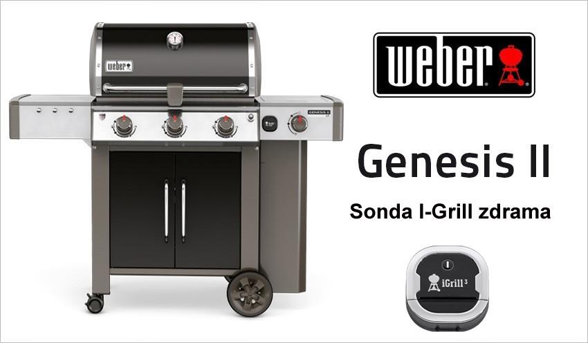 Plynový gril Weber Genesis II